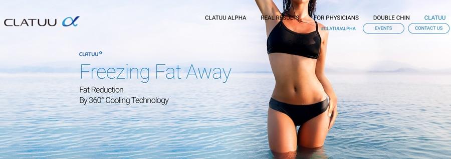 Clatuu Alpha rasvanpoisto jäädyttämällä